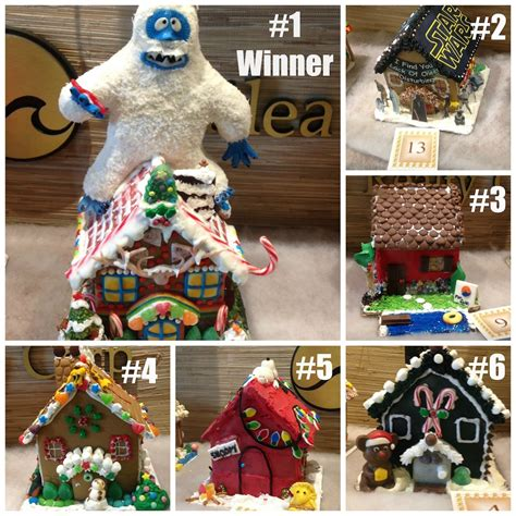 contest winner gingerbread house contest winners