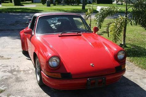sell used 1970 porsche 911 t 2 2l with removable targa top