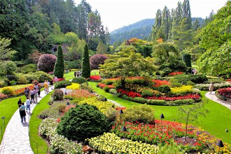World Famous Gardens | panoramio photo of world famous butchart gardens