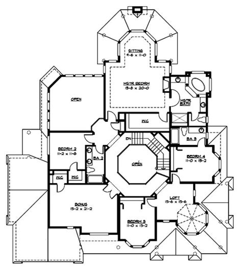 victorian homes floor plans victoria 3225 4 bedrooms and 3 baths the house designers