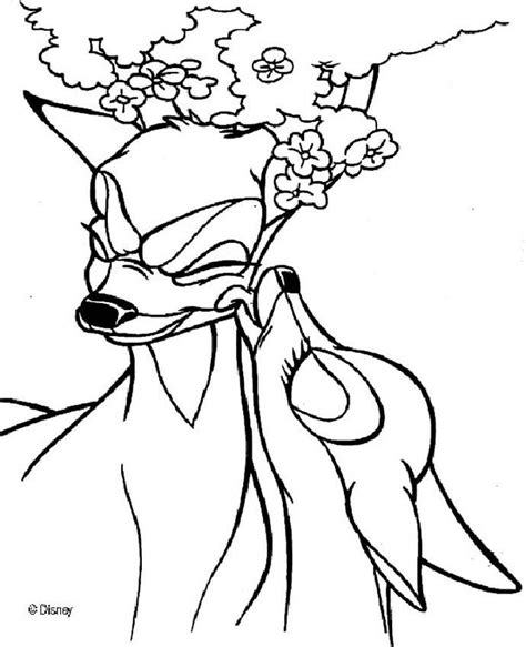 bambi coloring pages online bambi 75 coloring pages hellokids com