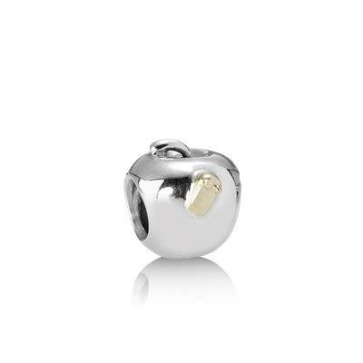 Pandora Apple With Worm Charms P 435 apple with worm 790168 charms pandora