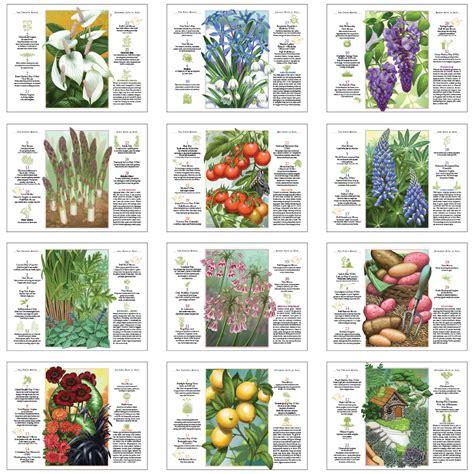 Gardening Calendar 2019 Farmers Almanac Gardening Calendar 10 1 2 Quot X