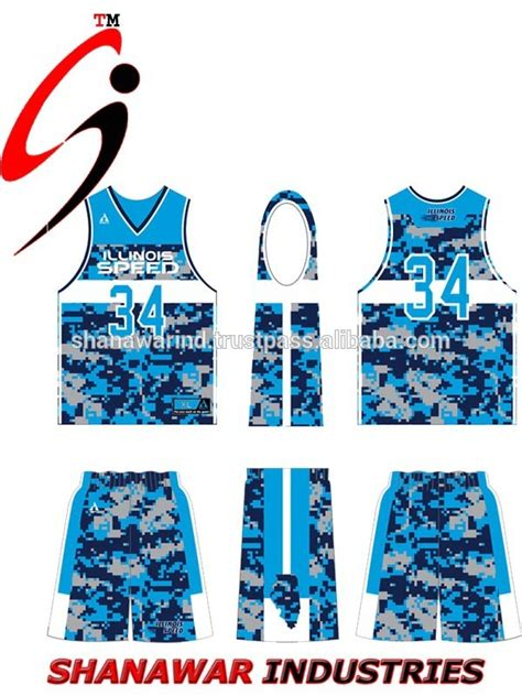 jersey design basketball camouflage 2015 reversible hot sale sublimation basketball uniform