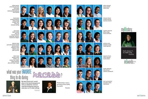 high school yearbook layout designs portrait page idea pictavo yearbooks www pictavo com