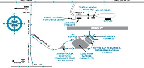 florida airport map southwest florida international airport parking