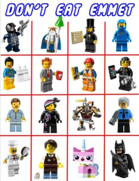 Ts Don Lego 1 don t eat emmet free printable lego a