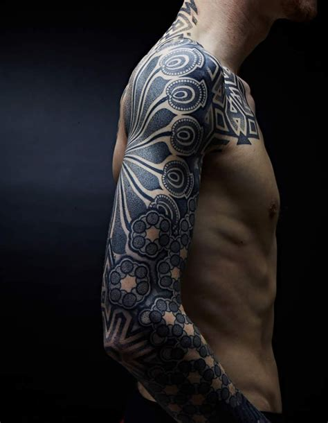wicked tattoos for men pointillism beautiful beautiful tattoos