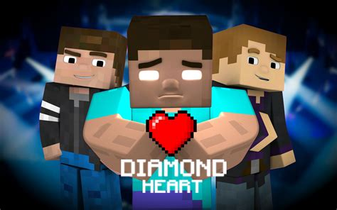 minecraft song diamond heart quot a minecraft parody of imagine dragons
