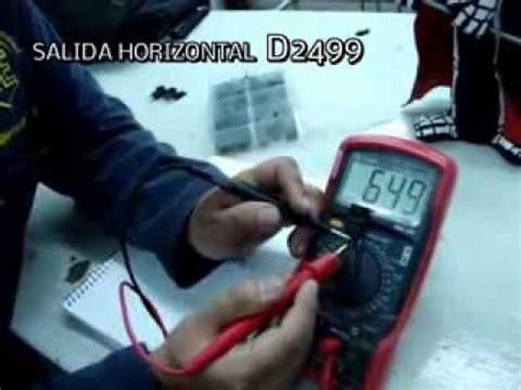 medir transistor d2499 medir transistor d2499 28 images triac test doovi medir transistor en la placa de circuito
