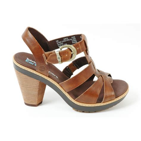 womens strappy sandals timberland 24670 chauncey s leather strappy sandal