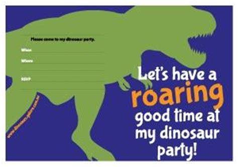 Free Printable S Dinosaurs Galore Dinosaur Birthday Invitation Template