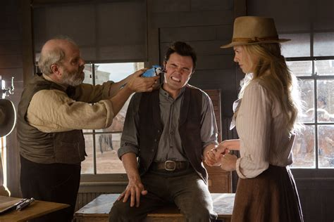 film comedy west million days die west comedy western film charlize theron