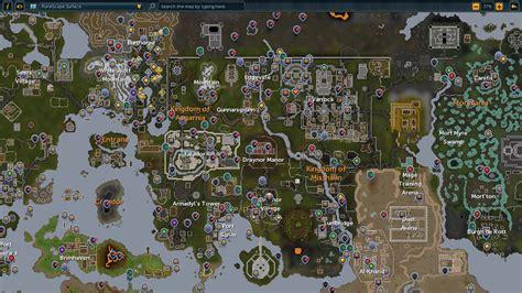 world map runescape wiki wikia
