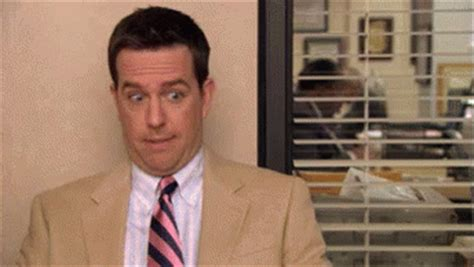 The Office Andy by Theoffice Andy Gif Theoffice Andy Awkward Gifs Say