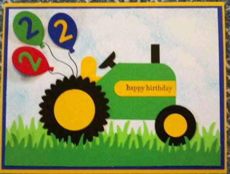 Tractor Birthday Card Tractor Birthday Card