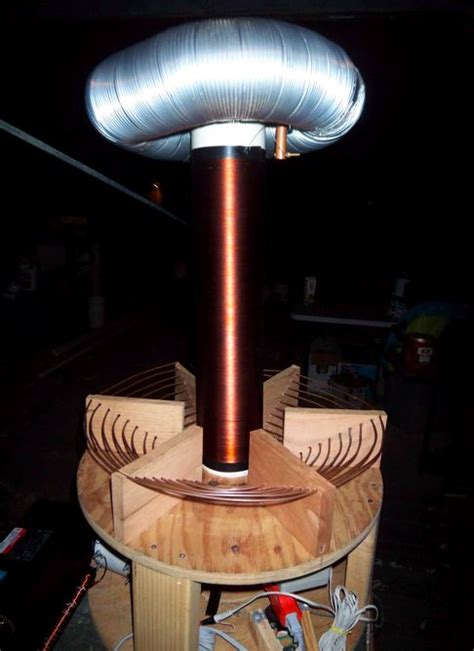 Parts Of A Tesla Coil Tesla Coil Bowers