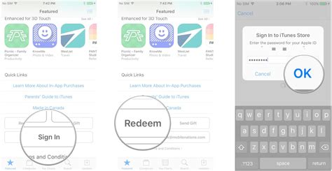 How To Enter An Itunes Gift Card On Your Phone - how to gift and redeem apps and gift cards in the app store imore
