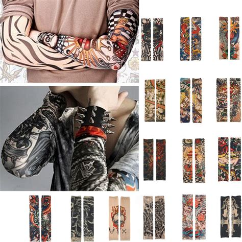 temporary sleeve tattoos for men 1pc temporary sleeve arm tatoo for