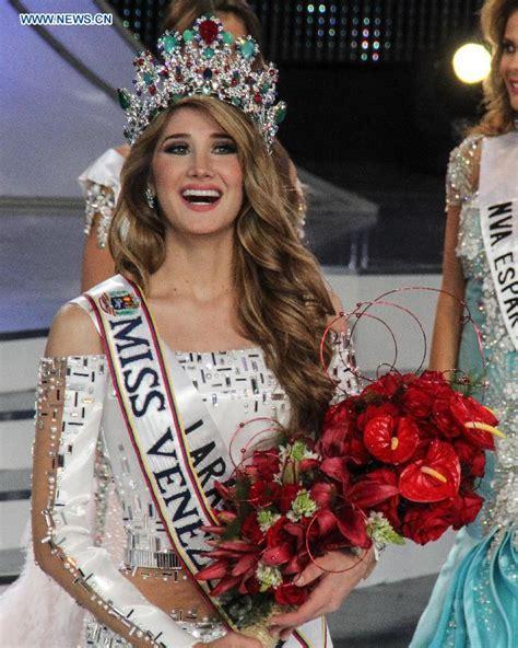 imagenes mis venezuela 2015 mariam habach crowned miss venezuela in caracas china org cn