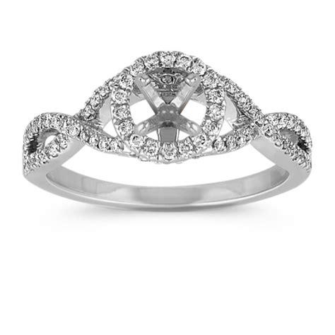 infinity setting engagement ring settings infinity engagement ring settings