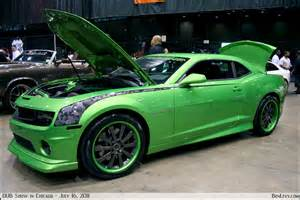 green chevy camaro benlevy
