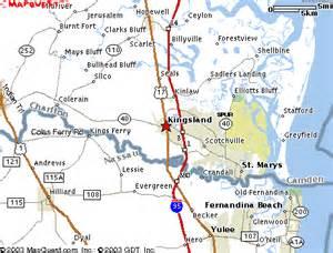 kingsland map kingsland ga maps