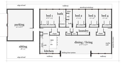 Rectangular Floor Plans | rectangle house floor plans home design great fancy and