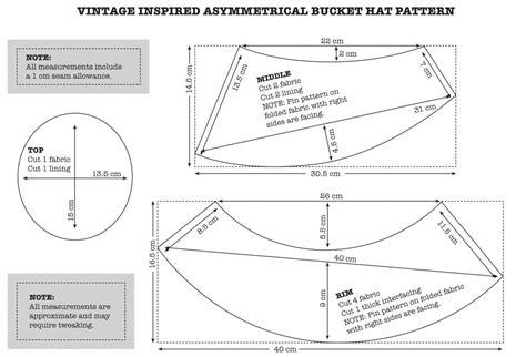pattern making blogs vintage inspired asymmetrical bucket hat ra ra superstar