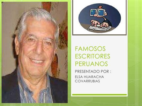 imagenes figurativas y sus autores escritores peruanos