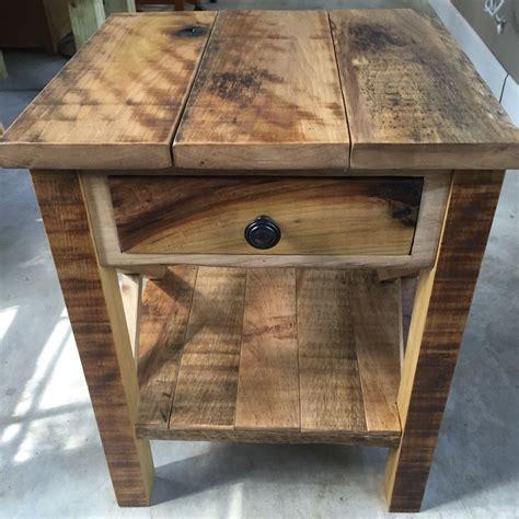 rustic reclaimed barnwood  table