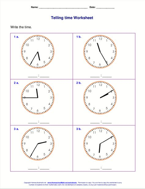 Telling Time Worksheet by Pictures 2nd Grade Telling Time Worksheets Getadating