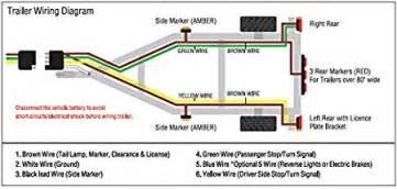 4 way trailer wiring diagram