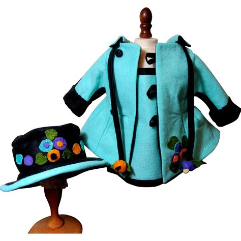 lenci doll clothes whimsical lenci doll costume coat hat dress from