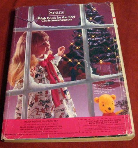 sears christmas catalogs on ebay vintage sears 1974 wish book catalog roebuck toys fashion ebay