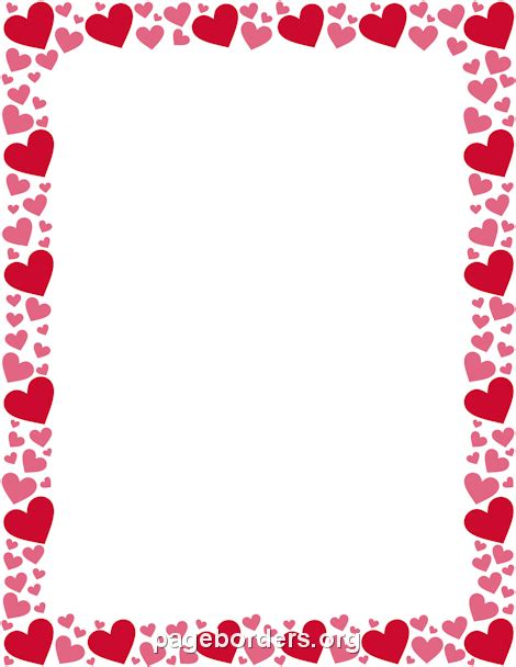 valentines frames free borders clipart clipart collection valentines