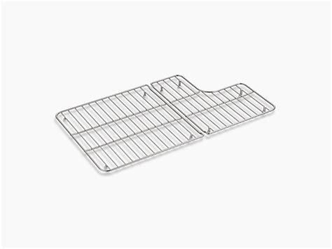kohler sink rack rubber feet k 6449 bottom sink rack for whitehaven apron front sinks