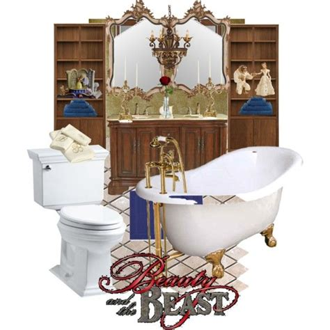 beauty and the beast home decor disneyhome beauty and the beast inspired bathroom by