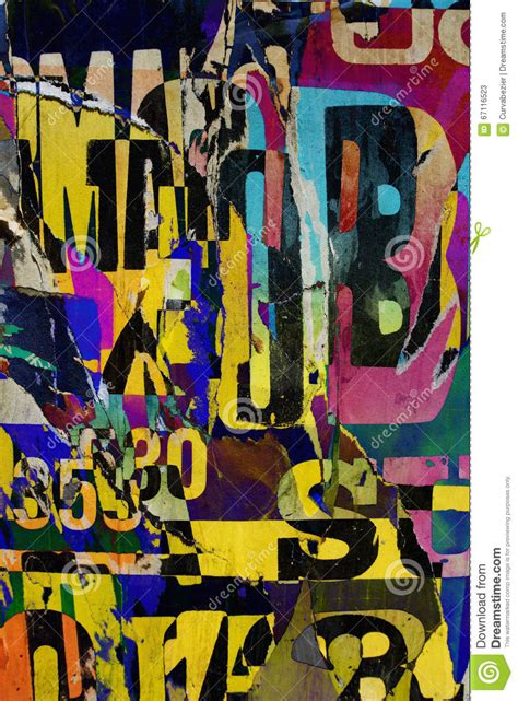 typography collage background collage or typography design wallpaper texture stock photo image 67116523