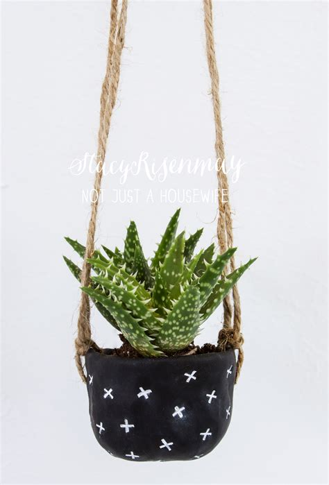 diy hanging plant pot my favorite planter projects not just a housewife