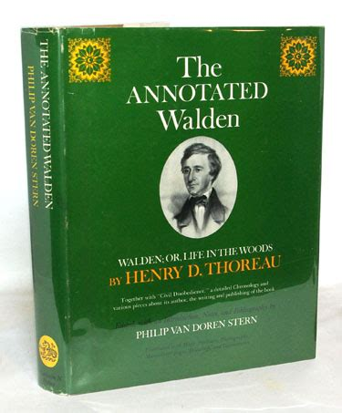 walden annotated book books by henry david thoreau