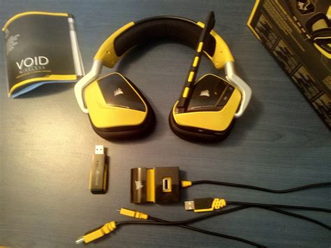 Sale Corsair Void Special Edition Yellowjacket Wireless Dolby 7 1 review corsair void gaming headset yellowjacket gotgame