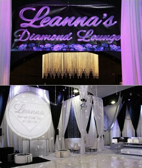 diamond themed events vip diamond lounge for diamond bling theme bat mitzvah
