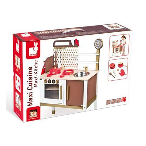 cuisine enfant bois janod maxi cuisine chic janod la f 233 e du jouet achat vente de