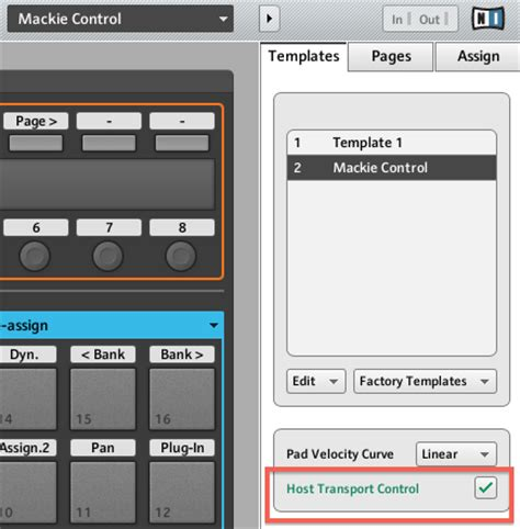 Using Maschine S Host Transport Control Feature In Fl Studio Knowledge Base Support Instruments Controller Editor Templates