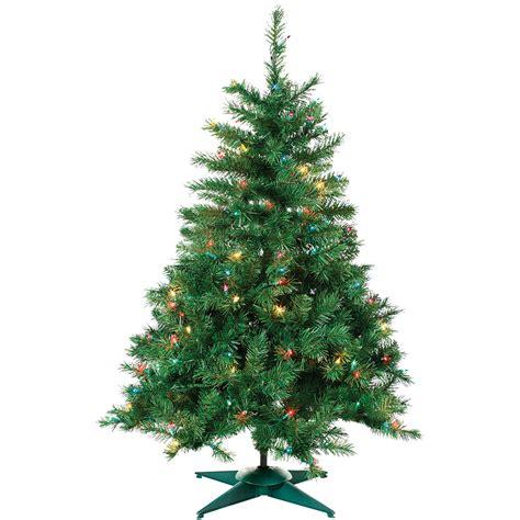 multi color tree multi color prelit colorado spruce tree