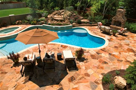 Home Design Backyard Patio With Pool Ideas Traditional