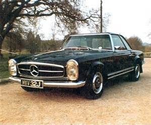 classic mercedes 280sl pagoda coupe sold 1971 on car and