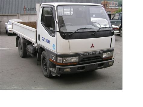 Mitsubishi Canter 1996 Mitsubishi Canter Pictures 3600cc Diesel Fr Or Rr