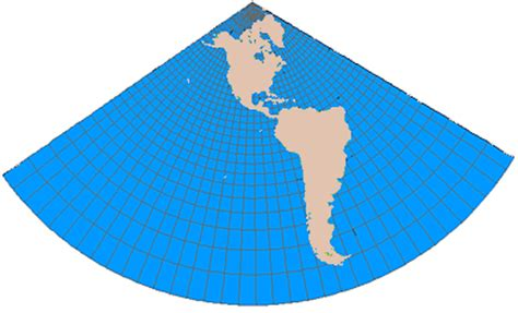 which is the best definition of a conic section lambert conformal conic projection